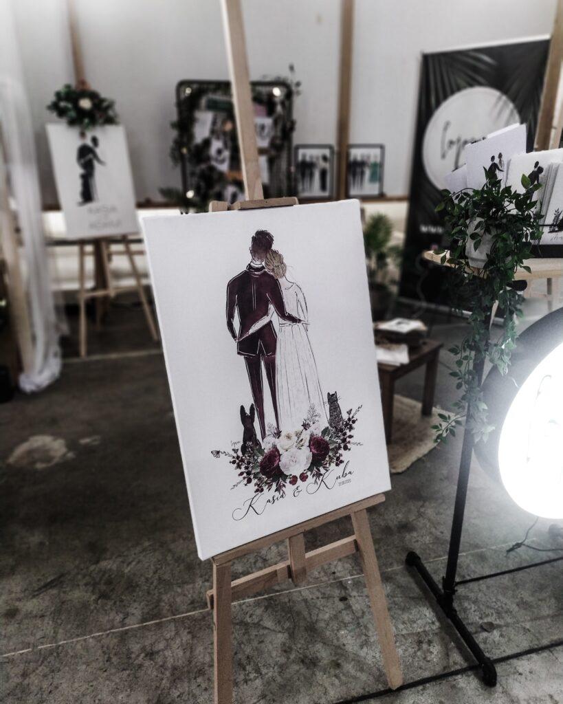 płótno, targi ślubne weselnik 2020